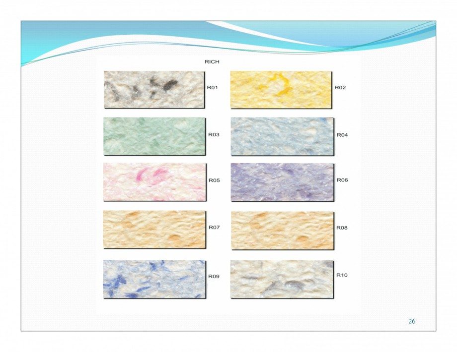 Pagina 11 - Culori pentru tencuiala decorativa din bumbac EUROMATT EUROMATT Catalog, brosura Romana