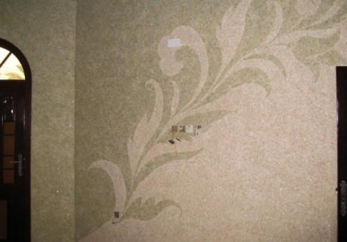 Prezentare produs Tencuiala decorativa din bumbac EUROMATT - Poza 15