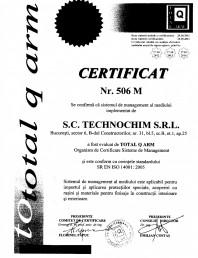 Certificat ISO 506 MEDIU