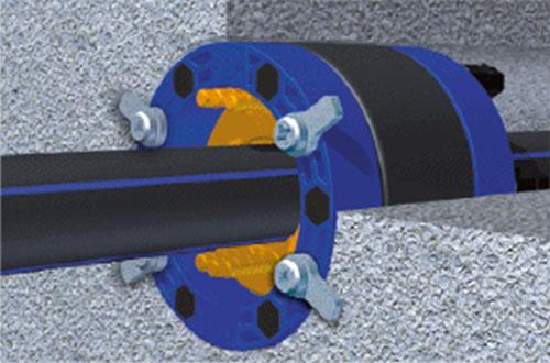 Sistem de etansare la trecerea prin pereti Curaflex Nova  DOYMA - Poza 3