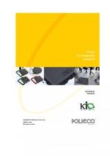 Capace pentru canalizare din material compozit KIO