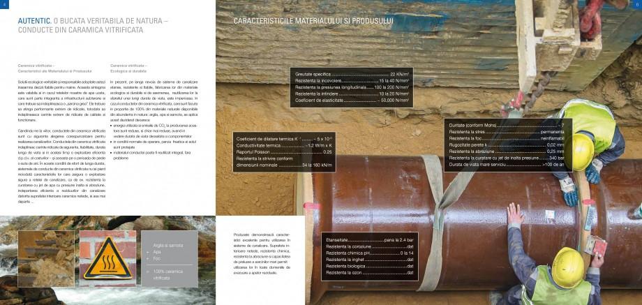 Catalog, brosura Sisteme de conducte de canalizare din ceramica vitrificata STEINZEUG KERAMO Tuburi ceramice HTI INTERNATIONAL ROMANIA proiectelor de executie și se extinde la toate zonele unui parteneriat de afaceri, care... - Pagina 3