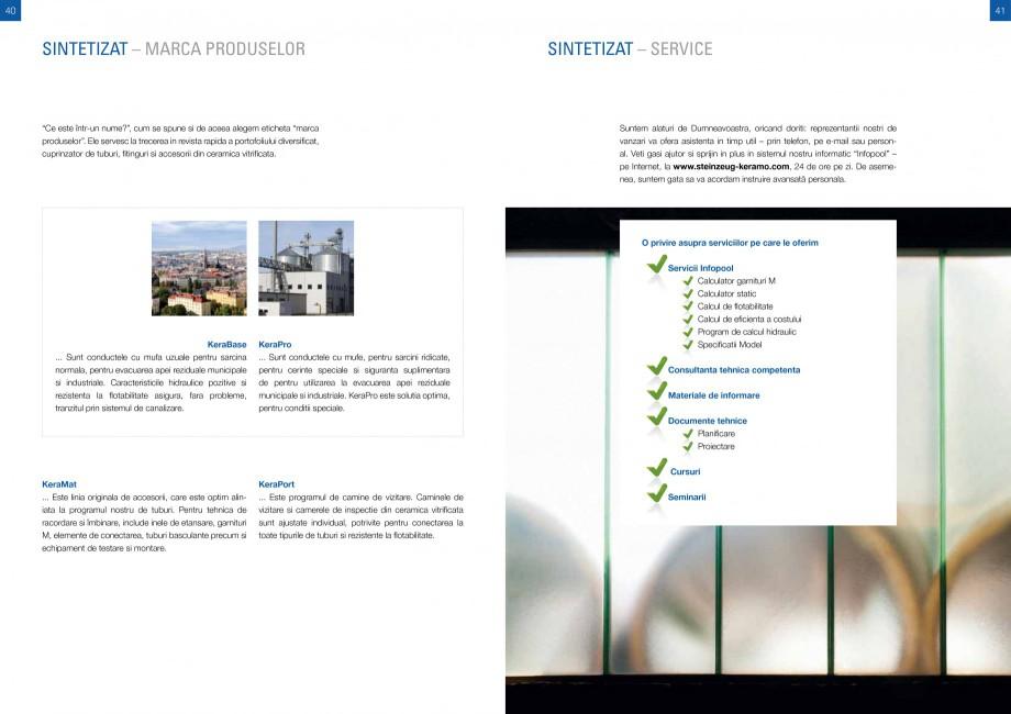Catalog, brosura Sisteme de conducte de canalizare din ceramica vitrificata STEINZEUG KERAMO Tuburi ceramice HTI INTERNATIONAL ROMANIA  170 170 180 170 180 170  Lungime nominala I1  DN1  2 DN  DN 1 kg/buc. 26 41 49 150 200 200 200  DN ... - Pagina 20