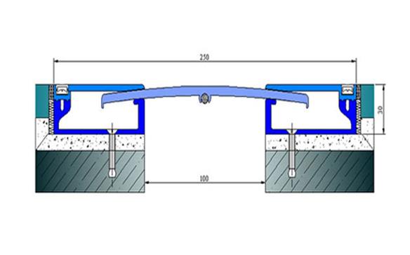 Profile pentru pardoseala pentru rost de 100 mm ARFEN - Poza 1
