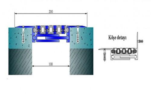 Profile pentru pardoseala pentru rost de 100 mm ARFEN - Poza 4