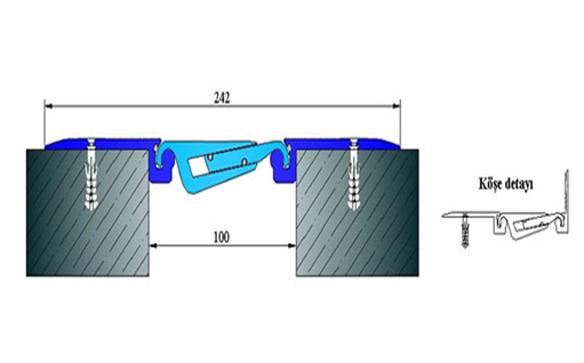 Profile pentru pardoseala pentru rost de 100 mm ARFEN - Poza 12