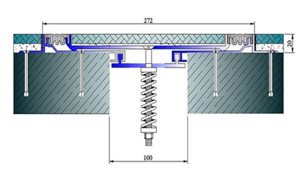 Profile pentru pardoseala pentru rost de 100 mm ARFEN - Poza 13