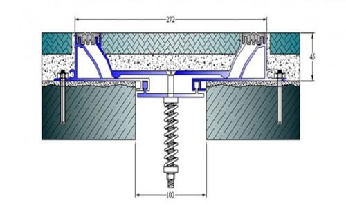 Profile pentru pardoseala pentru rost de 100 mm ARFEN - Poza 14