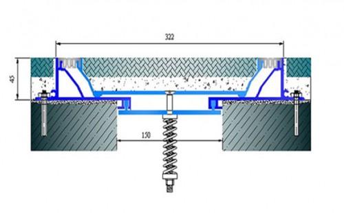 Profile pentru pardoseala pentru rost de 150 mm ARFEN - Poza 4