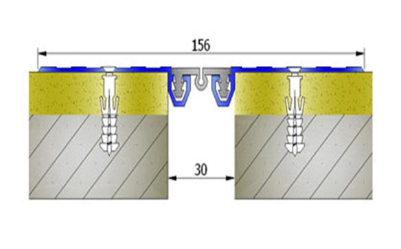 Profile pentru pereti si tavane pentru rost de 30 mm ARFEN - Poza 8