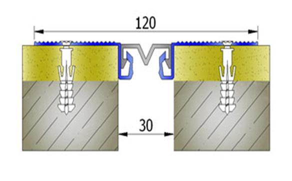 Profile pentru pereti si tavane pentru rost de 30 mm ARFEN - Poza 10
