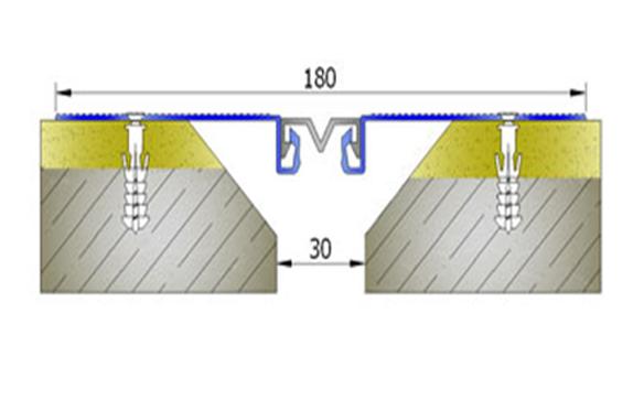 Profile pentru pereti si tavane pentru rost de 30 mm ARFEN - Poza 11