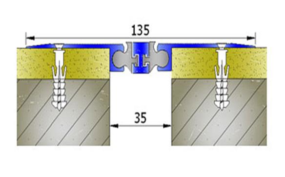Profile pentru pereti si tavane pentru rost de 30 mm ARFEN - Poza 12