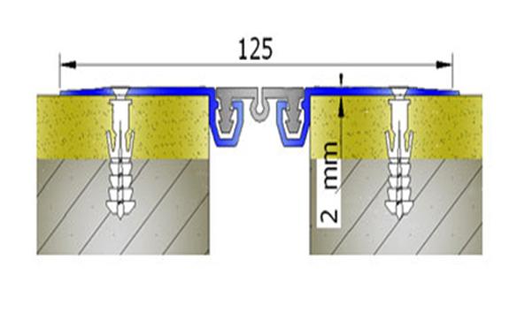 Profile pentru pereti si tavane pentru rost de 30 mm ARFEN - Poza 13