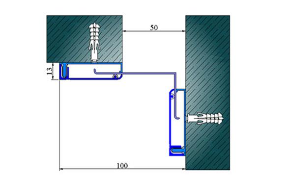 Profile pentru pereti si tavane pentru rost de 50 mm ARFEN - Poza 14