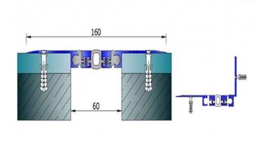 Profile pentru pereti si tavane pentru rost de 50 mm ARFEN - Poza 9