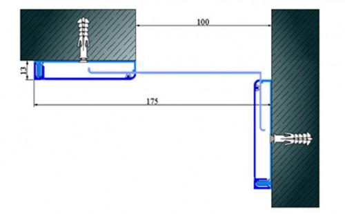Profile pentru pereti si tavane pentru rost de 100 mm ARFEN - Poza 12
