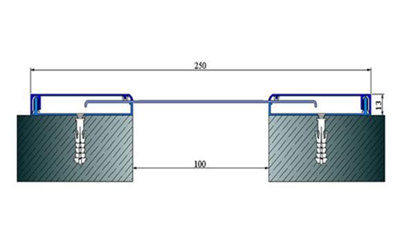 Profile pentru pereti si tavane pentru rost de 100 mm ARFEN - Poza 11