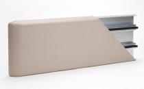Protectii pentru pereti Protectiile pentru pereti sunt realizate pentru a preintampina deteriorarile cauzate de diverse lovituri in spatiile cu trafic dens si cu obiecte mari si greu manevrabile. Protectii pentru pereti - Mana curenta CR50 - are o latime de 50 mm, adancimea 20 mm, lungimea profilului este de  4 m si este disponiblia in 30 de culori. Protectie colt CG50 - lungimile disponibile sunt: 1.2 metri, 1.5 metri, are o latime de 50 mm si este disponibila in 12 culori.