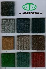 Stergator pentru intrare cu logo MATIFORMA