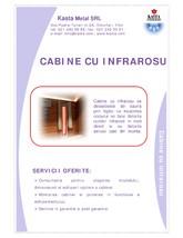 Cabine infrarosu KASTA METAL