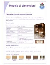 Cabina de saune cu infrarosu KASTA METAL