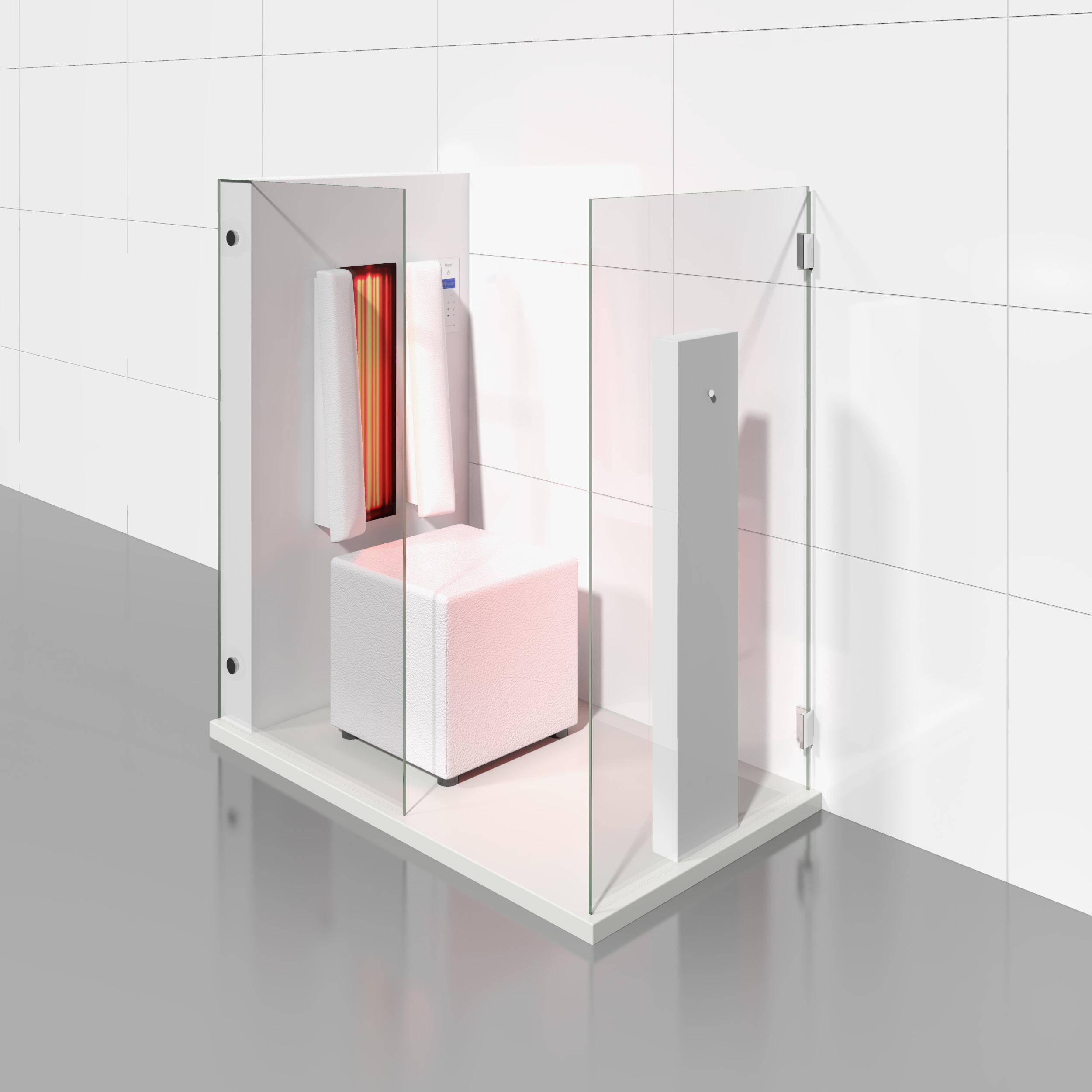 Cabine de saune cu infrarosu KASTA METAL - Poza 3