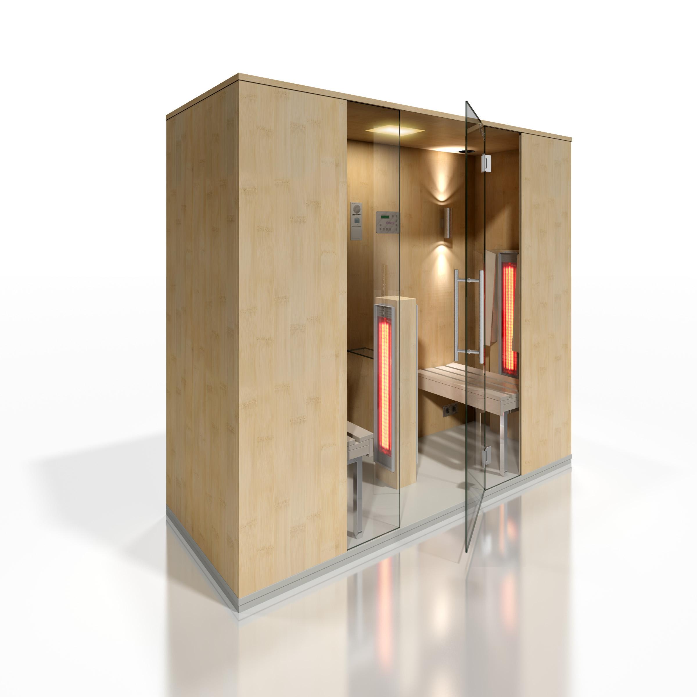 Cabine de saune cu infrarosu KASTA METAL - Poza 4