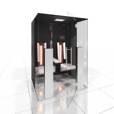 Prezentare produs Cabine de saune cu infrarosu KASTA METAL - Poza 5