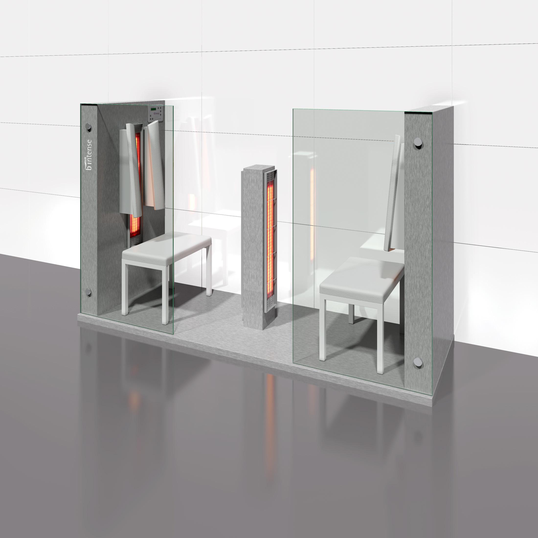 Cabine de saune cu infrarosu KASTA METAL - Poza 6