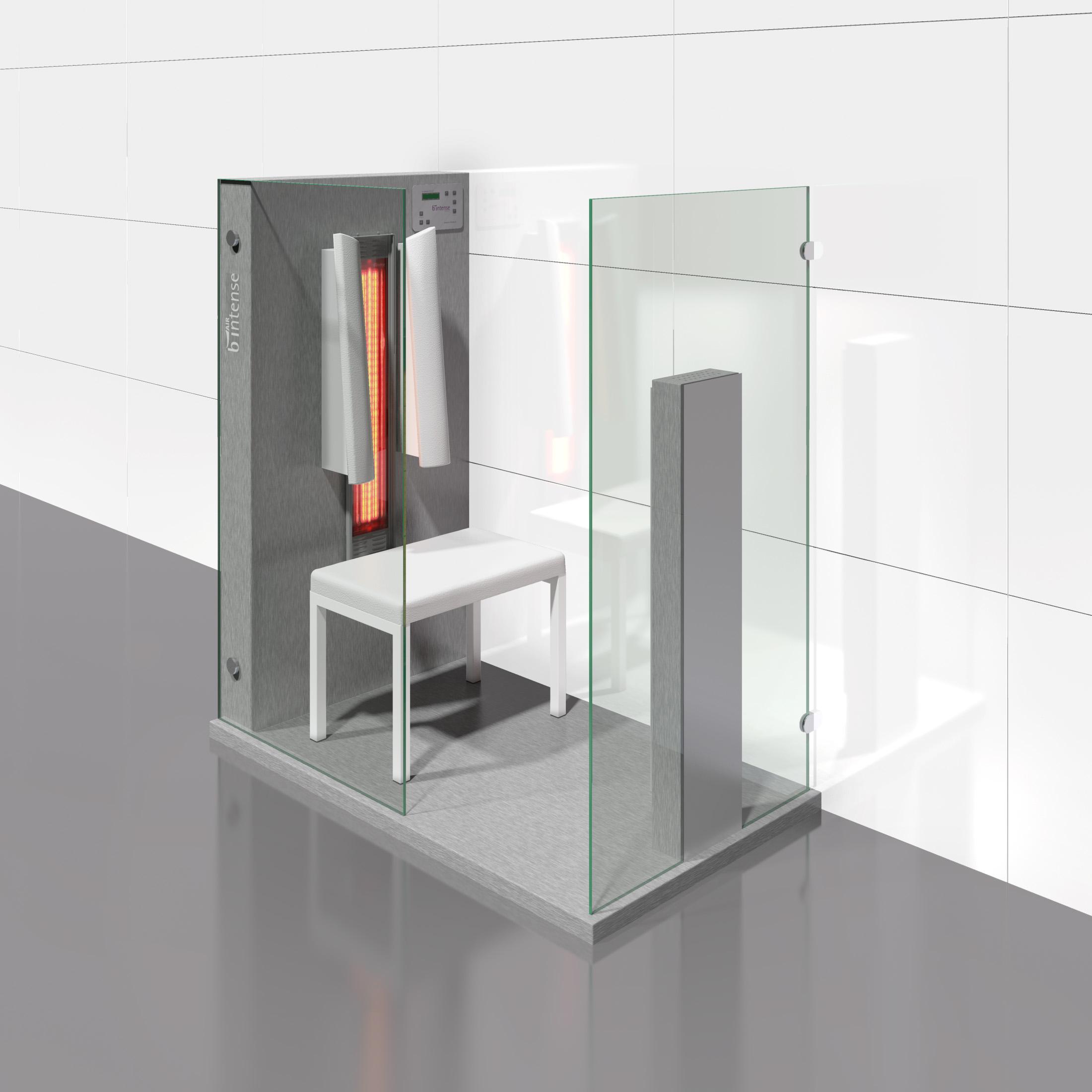 Cabine de saune cu infrarosu KASTA METAL - Poza 7
