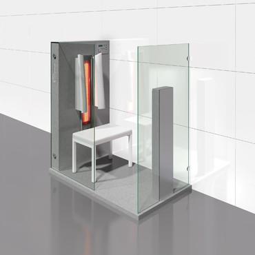 Prezentare produs Cabine de saune cu infrarosu KASTA METAL - Poza 7