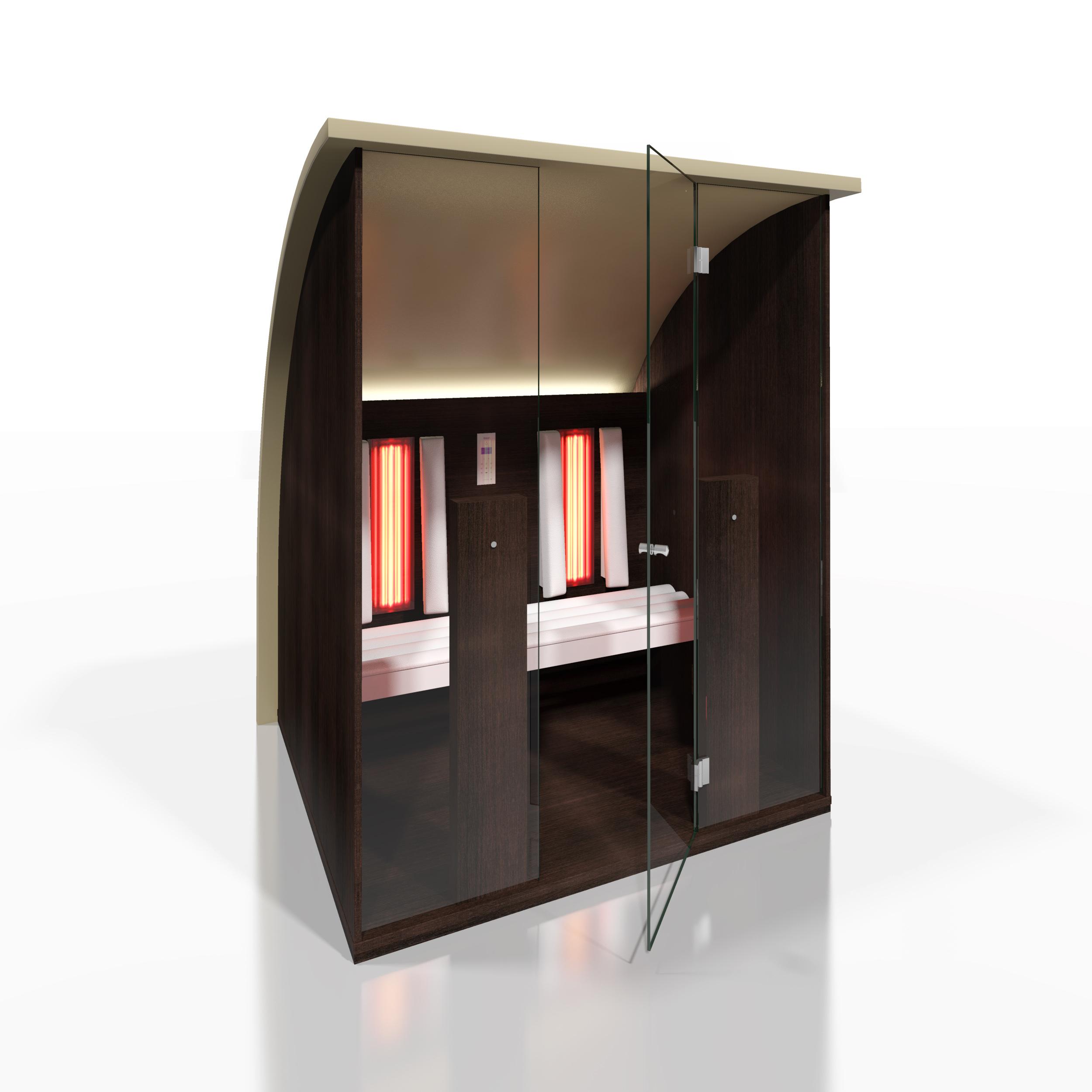 Cabine de saune cu infrarosu KASTA METAL - Poza 9