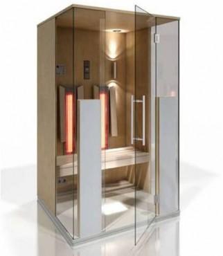 Prezentare produs Cabine de saune cu infrarosu KASTA METAL - Poza 10