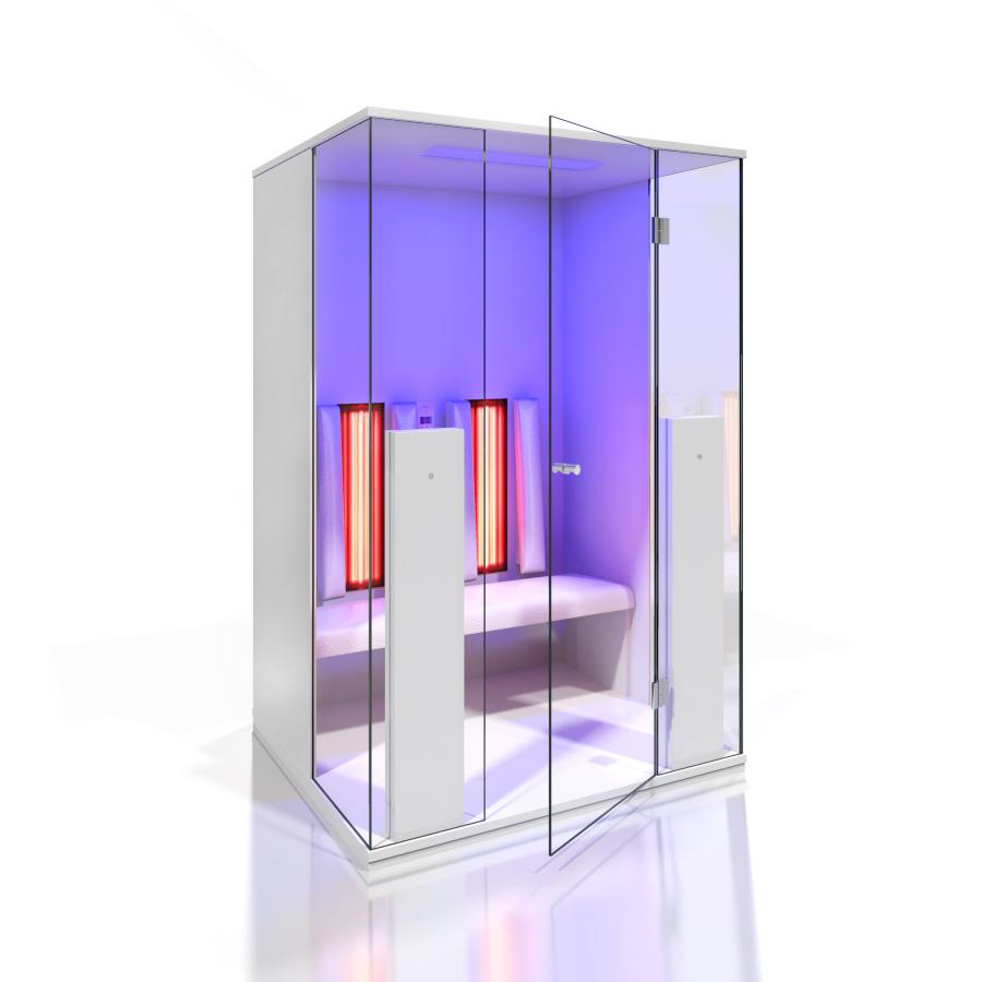 Cabine de saune cu infrarosu KASTA METAL - Poza 11