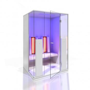 Prezentare produs Cabine de saune cu infrarosu KASTA METAL - Poza 11
