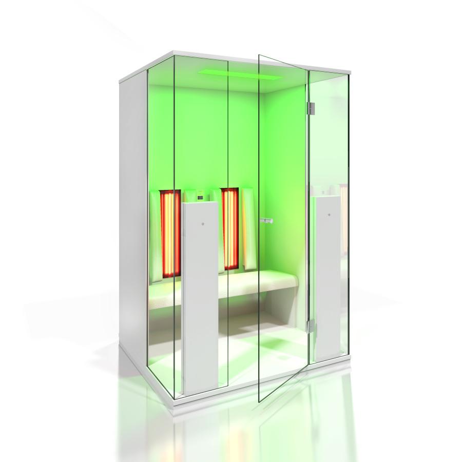 Cabine de saune cu infrarosu KASTA METAL - Poza 12