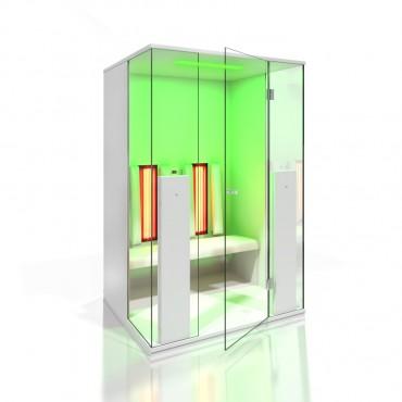 Prezentare produs Cabine de saune cu infrarosu KASTA METAL - Poza 12