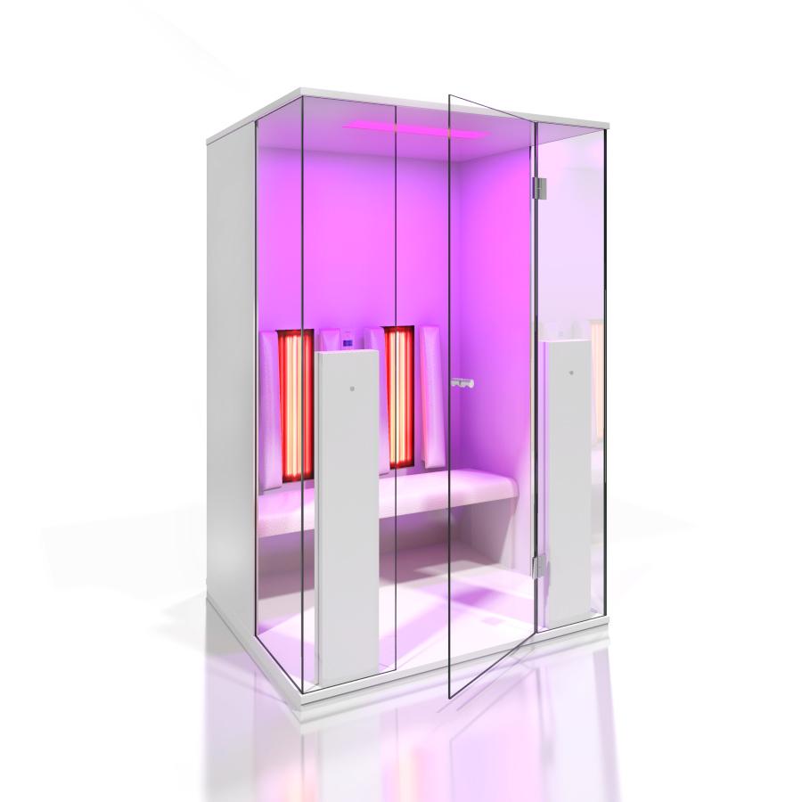 Cabine de saune cu infrarosu KASTA METAL - Poza 13