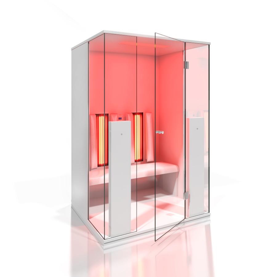 Cabine de saune cu infrarosu KASTA METAL - Poza 14