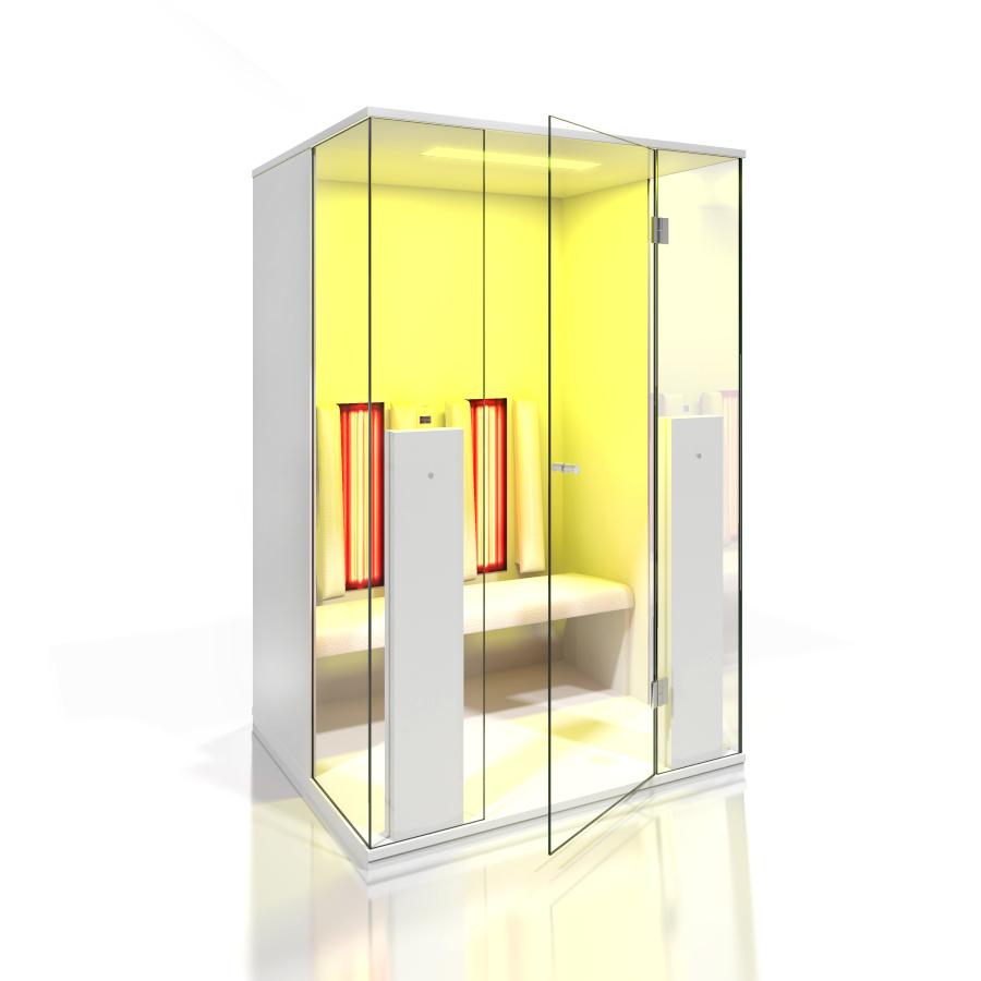 Cabine de saune cu infrarosu KASTA METAL - Poza 15