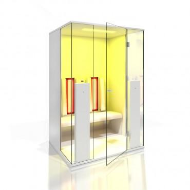 Prezentare produs Cabine de saune cu infrarosu KASTA METAL - Poza 15