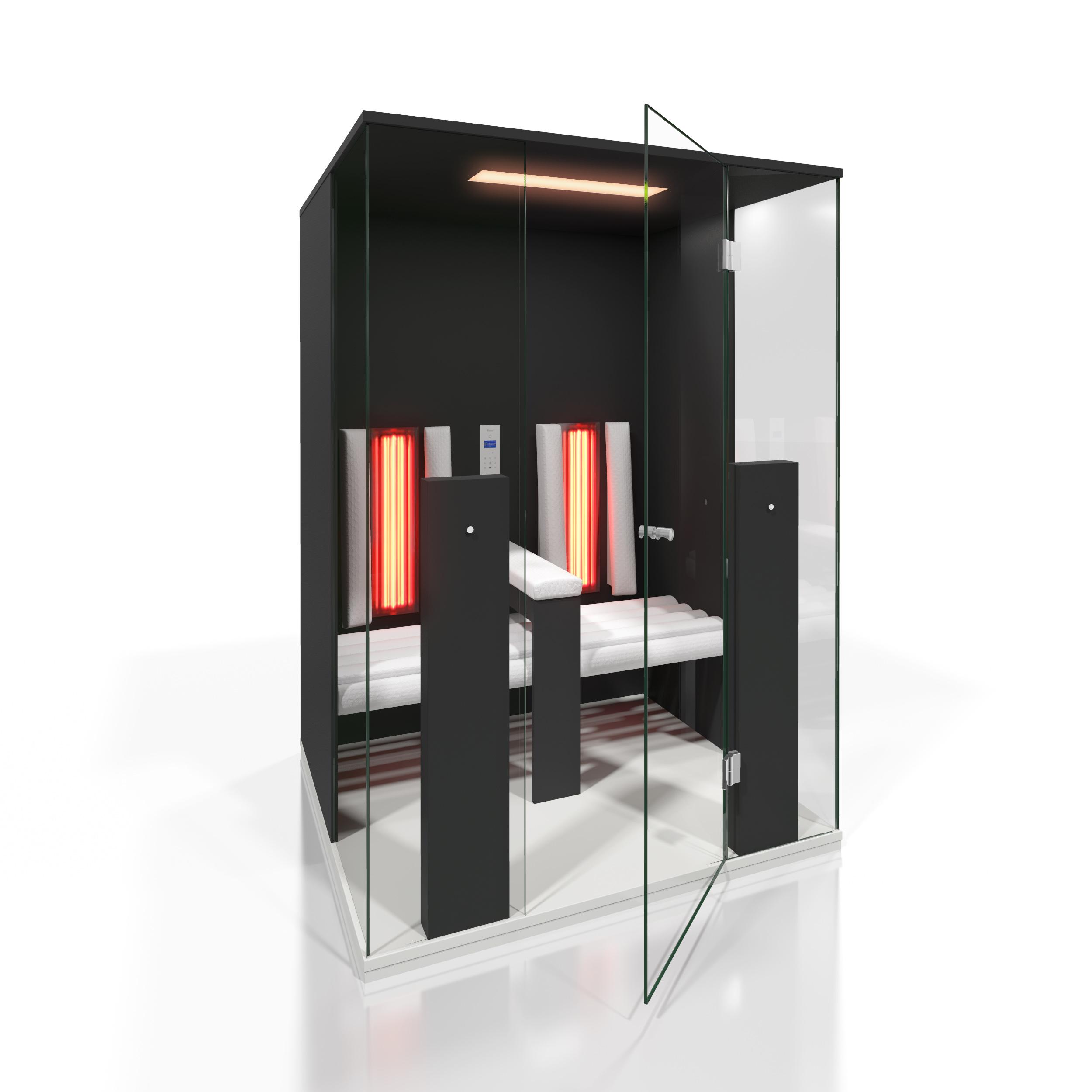 Cabine de saune cu infrarosu KASTA METAL - Poza 16