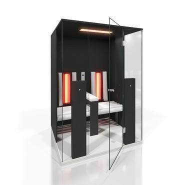Prezentare produs Cabine de saune cu infrarosu KASTA METAL - Poza 16