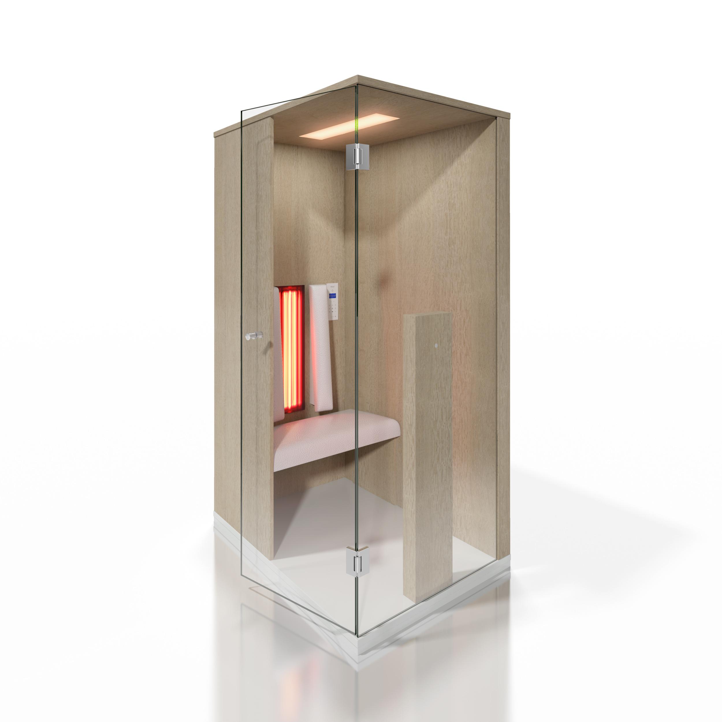 Cabine de saune cu infrarosu KASTA METAL - Poza 19