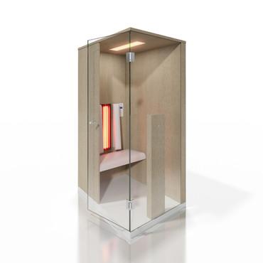 Prezentare produs Cabine de saune cu infrarosu KASTA METAL - Poza 19