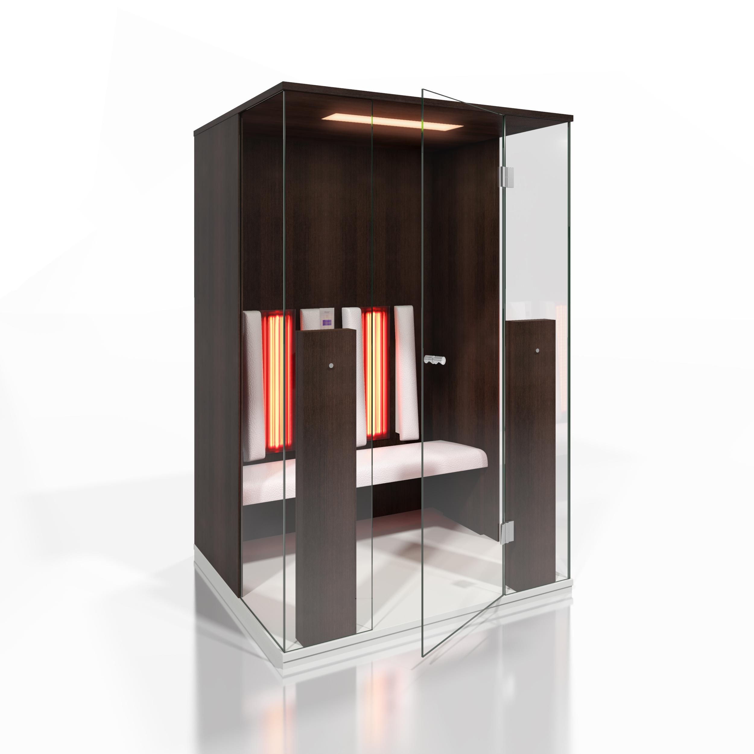 Cabine de saune cu infrarosu KASTA METAL - Poza 20