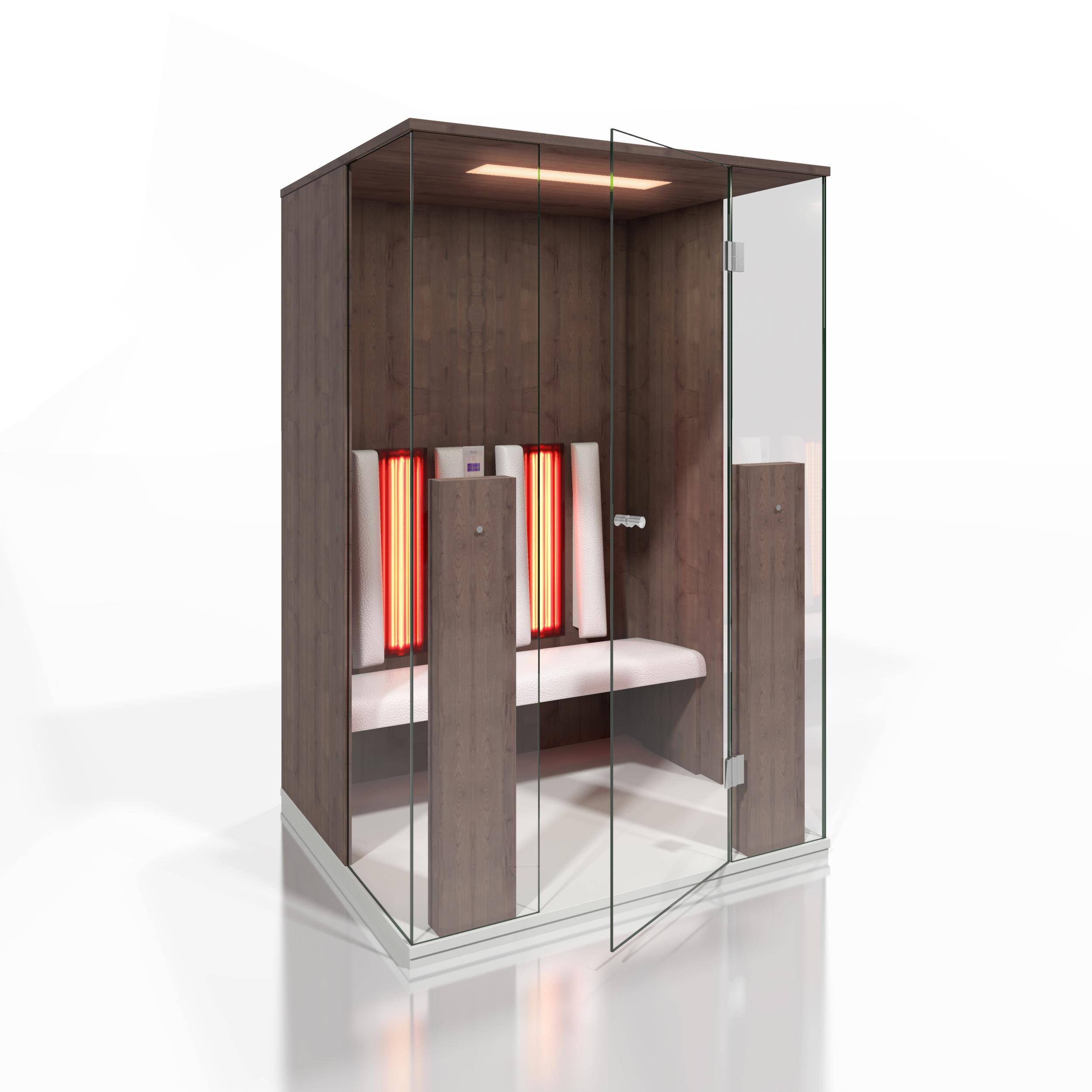 Cabine de saune cu infrarosu KASTA METAL - Poza 22