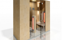 Cabine de saune cu infrarosu KASTA METAL