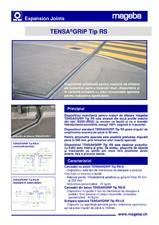 Profile de dilatatie pentru poduri, drumuri MAGEBA